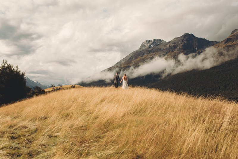 paradise trust glenorchy wedding queenstown wedding photographer rustic natural wedding
